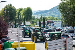 Unió de Pagesos convoca una manifestació a Berga que tallarà la C-16 aquest divendres al matí