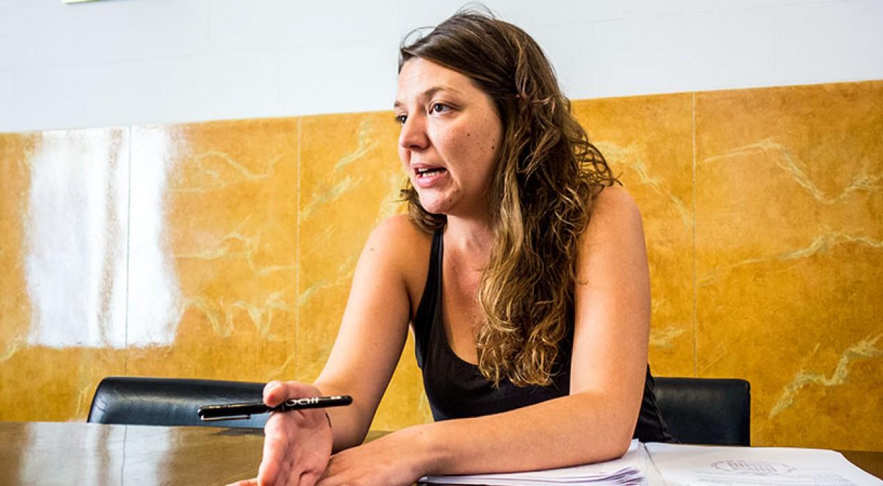 Detenen l'alcaldessa de Berga, Montse Venturós, per portar-la als jutjats