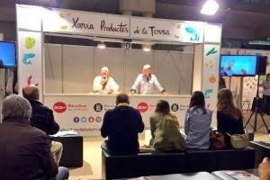 Gironella presenta l'escudella de blat de moro escairat al Fòrum Gastronòmic de Barcelona
