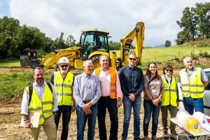 Comença la construcció de la depuradora d'Avià amb la previsió d'estar enllestida en dotze mesos