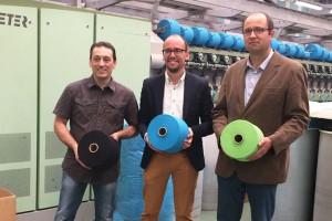 El tèxtil del Berguedà s'obre a nous mercats gràcies al clúster MESAB