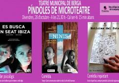 El Teatre Municipal de Berga obre portes per fer representacions en tres espais insòlits