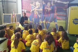El projecte educatiu BarçaKids arriba aquest novembre a 14 escoles del Berguedà