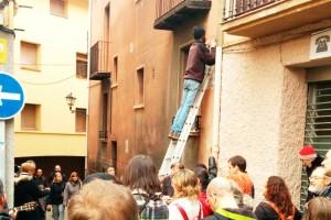 Els anarquistes canvien el nom de dos carrers de Berga pels de Marcel·lí Massana i Alfonsina Bueno