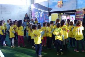 """Les escoles del Berguedà """"guanyen valors"""" gràcies al projecte Barçakids"""