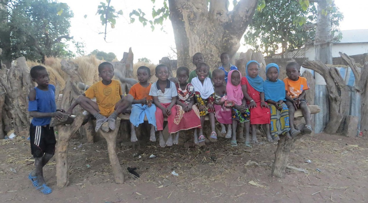 Borredà recull bicicletes perquè nens del Senegal puguin anar a l'institut