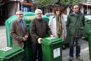 Entren en funcionament els nous contenidors de vidre de Berga, pensats per a bars i restaurants