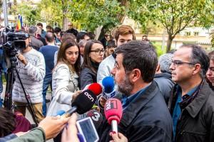 """Jordi Sànchez (ANC): """"Cap decisió d'un jutge frenarà el procés ni els fatigarà"""""""