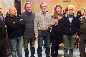 El govern de Berga i els franciscans signen la cessió del convent de Sant Francesc a l'Ajuntament