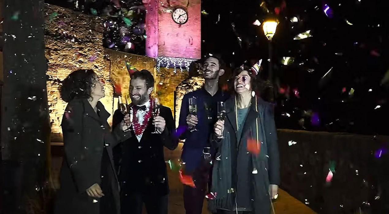 El vídeo promocional de les campanades de La Xarxa des de Gironella