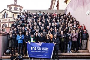 Judit Corral i Xavi Rossinyol presenten aquest diumenge a Berga la campanya 'Casa nostra, casa vostra'