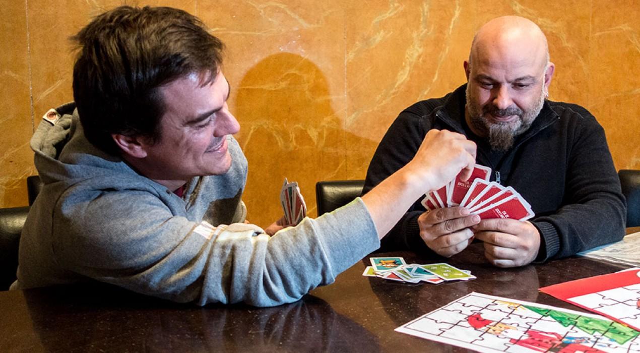 Els jocs i el Nadal queden al passeig de la Indústria de Berga pel pont de la Puríssima