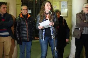 """Montse Venturós: """"Joan, aquí caminarem i lluitarem per tirar endavant aquest procés"""""""