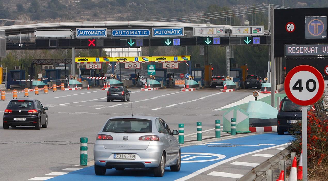 Noves bonificacions al peatge de la C-16 a Sant Vicenç de Castellet pels conductors amb teletac