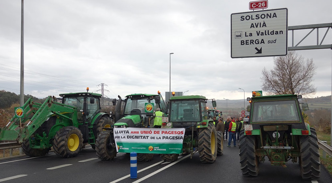 Unió de Pagesos, sense resposta del Govern, insisteix que la nova C-16 fins a Bagà ha de tenir en compte el medi agrari