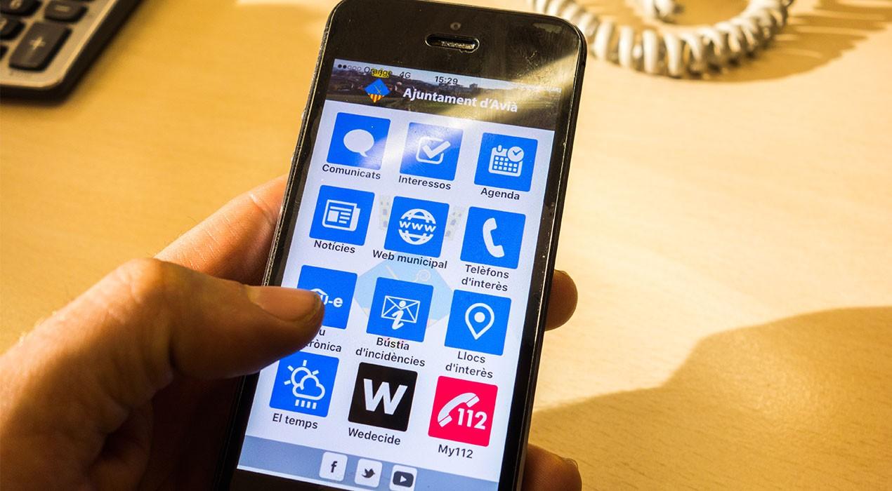 L'Ajuntament d'Avià llança una aplicació mòbil per informar els veïns de l'actualitat municipal