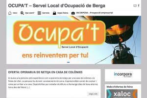 El servei Ocupa't estrena lloc web, que facilita la recerca de feina a Berga i la comarca
