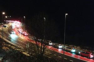 Alcaldes del Berguedà demanen més carrils a la C-16 per evitar cues quilomètriques fins al túnel del Cadí
