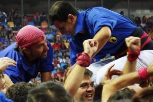 Els Castellers de Berga tornen a la feina amb el repte d'igualar la millor temporada de la seva història