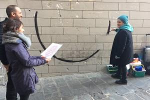 El projecte 'Companyies' surt al carrer amb tres murals per acabar amb l'aïllament social de les persones grans de Berga