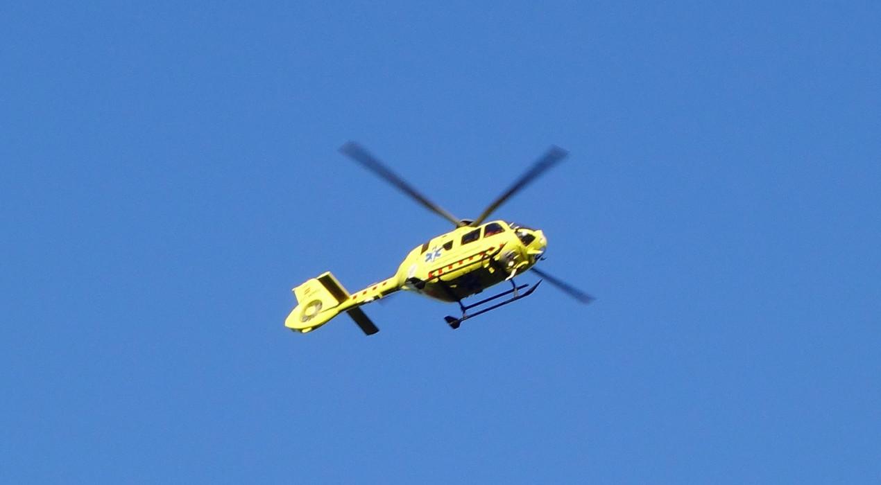 Evacuat un menor en estat greu que ha caigut des d'uns 2,5 metres quan feia una excursió pel Coll d'Estela
