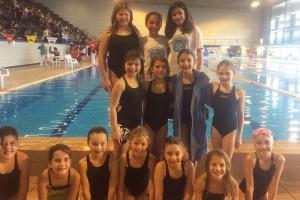 La berguedana Sheila Garcia guanya la 1a jornada del campionat català de figures de natació sincronitzada