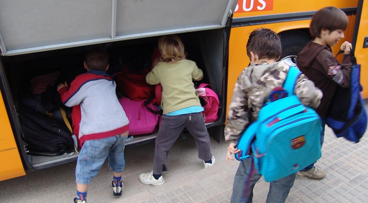 Les nevades al Berguedà deixen sense transport escolar una trentena d'alumnes de primària i secundària