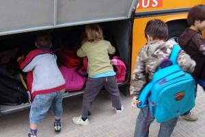 El transport escolar als municipis de l'Alt Berguedà queda anul·lat sense excepcions a causa de la neu