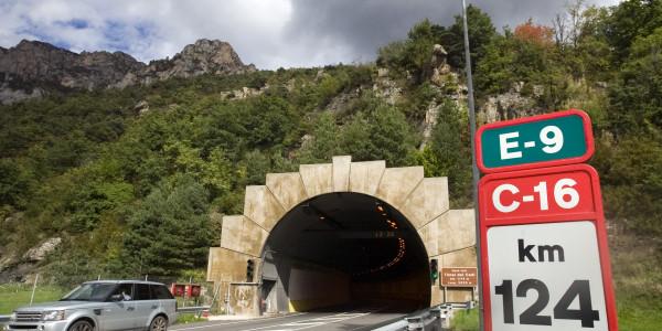 Entrada Sud Túnel del Cadi