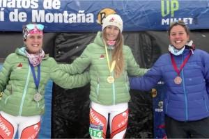Clàudia Sabata es proclama Campiona Promesa d'Espanya en Esquí Vertical