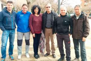Sis berguedans afrontaran els 100 quilòmetres de la Trail Walker de Girona per una causa solidària