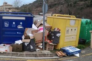 Puig-reig visibilitza l'incivisme dels seus habitants i promet noves accions per reduir-lo
