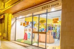 Tanca a Puig-reig la botiga Ribera Esports per la baixada de vendes dels últims anys