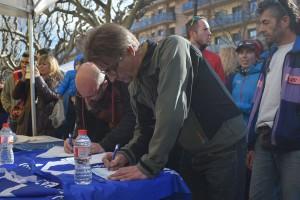 Berga recull gairebé 300 signatures per a l'acollida de refugiats en només quatre hores