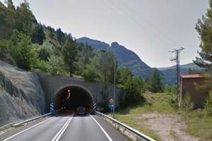 Dues persones ferides en un accident a la C-16, a l'alçada del túnel de Guardiola de Berguedà