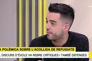 """Xavi Rosiñol: """"Qui es quedi a casa en lloc d'anar a la manifestació serà responsable que la crisi de refugiats continuï"""""""