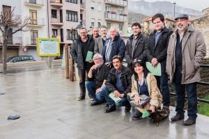 Els alcaldes de l'Alt Berguedà i el Ripollès exigeixen menys corbes a la carretera de Guardiola a Ripoll