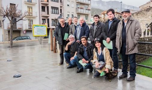 Els alcaldes de l'Alt Berguedà i el Ripollès exigeixen menys corbes a la carretera de Guardiola a Ripoll; max-width:100%;