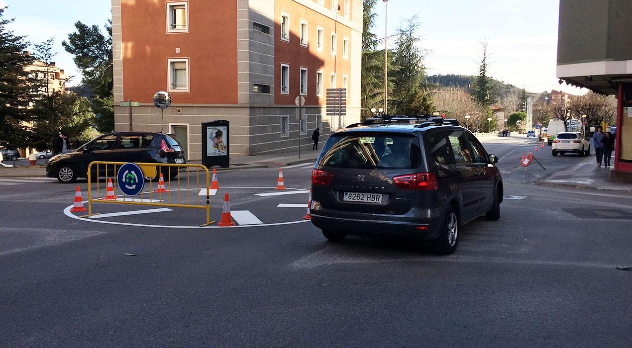 """Les 8 intervencions """"il·legals"""" de l'Ajuntament de Berga en carreteres urbanes que no eren seves"""