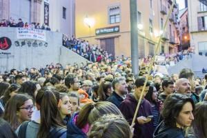 """Berga es converteix en """"un exemple"""" de la lluita contra l'homofòbia en un acte multitudinari"""