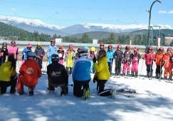 Uns 200 nens i nenes del Berguedà han anat a la neu aquest hivern dins el programa Esport Blanc Escolar