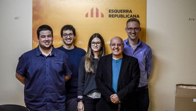 Aleix Camprubí, nou president de l'Executiva Local d'ERC Berga