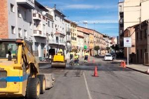 Gironella inverteix 107.000 euros en asfaltar 8.000m2 de carrers i dues plataformes de prioritat de vianants