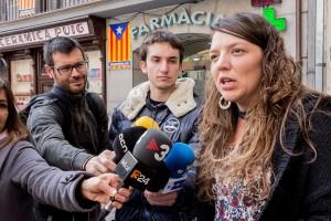 """Montse Venturós: """"Cuixart i Sànchez no haurien passar ni una nit més a les clavegueres de l'Estat espanyol"""""""