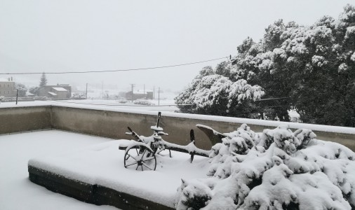 La neu torna a caure al Berguedà per segon cop en menys de dos mesos; max-width:100%;