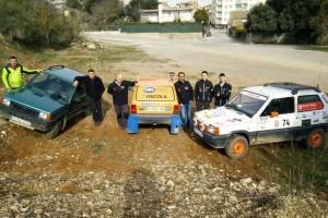 Quatre cotxes berguedans enfilen camí cap al Panda Raid 2017