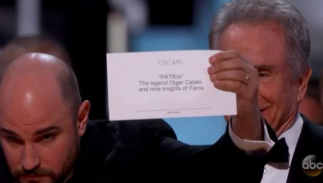 L'Oscar a la millor pel·lícula és per… Pàtria!