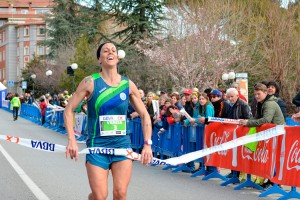 Toni Bernadó i Vanesa Chirveches s'imposen en els 10km urbans de Berga