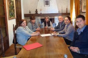 El Govern promet treballar per fer arribar l'electricitat a l'antena de gasoil de Puigdon