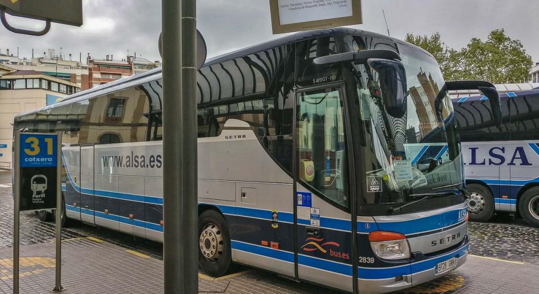 bus autobus alsa alsina graells berga barcelona nord estacio arc triomf (6)